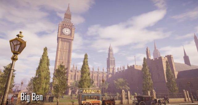 """""""Big Ben"""" im Spiel"""