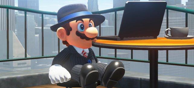 Es ist zu bezweifeln, dass es sich bei der im Bild gezeigten Person um einen Anwalt von Nintendo handelt.