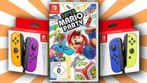 <span>Nintendo-Switch-Bundle:</span> Joy-Cons mit Super Mario Party nur heute im Angebot