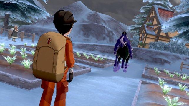 Ihr müsst das Ross aus dem Dorf vertreiben, um die Bewohner zu retten.