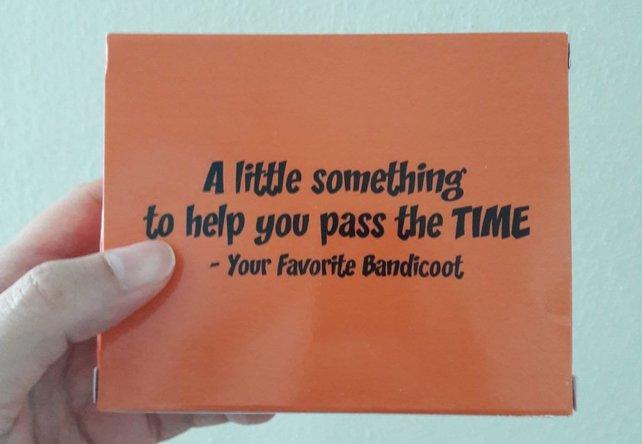 So grüßt euch der Bandicoot