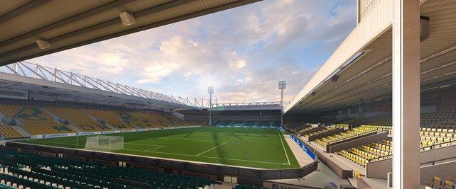 Wie gewohnt werden alle BPL-Stadien lizenziert - genau wie Carrow Road (Quelle: easports.com)