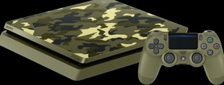 PlayStation 4: Camouflage-Version mit Call of Duty im Angebot