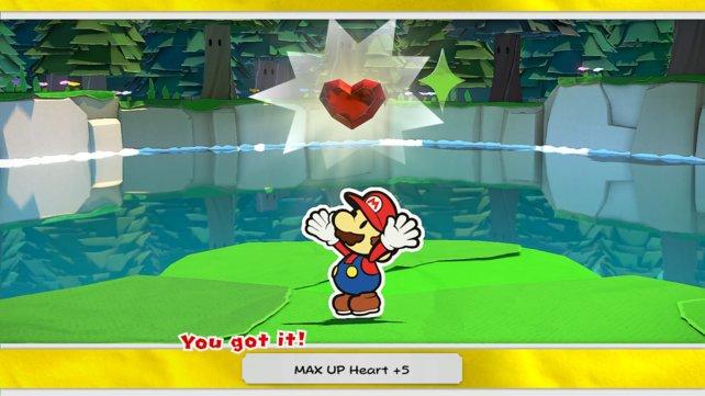 KP-Max-Plus steigern in Paper Mario: The Origami King die KP und damit auch die Angriffskraft.