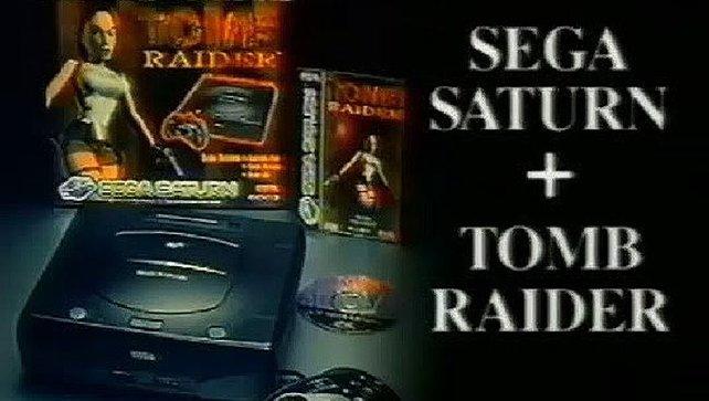 Hätte eigentlich ein Traumpaar werden sollen: Tomb Raider und der Sega Saturn.