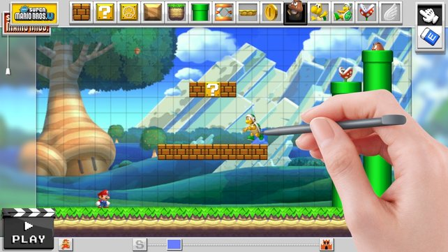 Oder doch lieber den Kult-Klempner aus New Super Mario Bros. U?