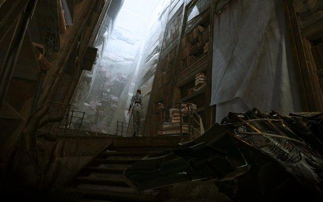 Eindrücke wie dieser geben die Atmosphäre der Dishonored-Spiele gekonnt wieder.