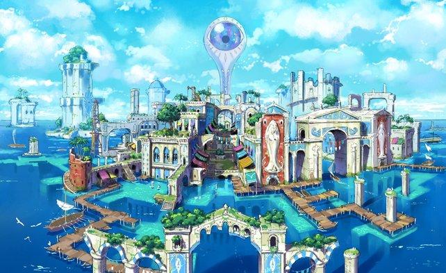 Hydropolis: Ein Meisterwerk der Architektur, das leider ständig von einem riesigen Auge überwacht wird.