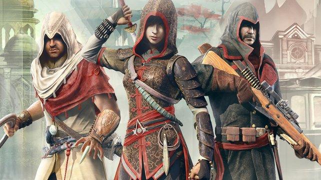 Assassin's Creed Chronicles - China mit Shao Jun in der Hauptrolle macht den Anfang. Im Herbst reisen die Assassinen nach Indien und Russland.