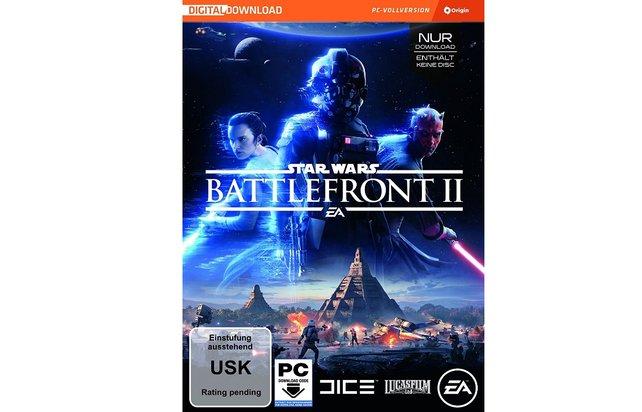 Das Cover der Star Wars Battlefront 2 - Standard Edition für den PC - Vorsicht: Enthält keine Disc!