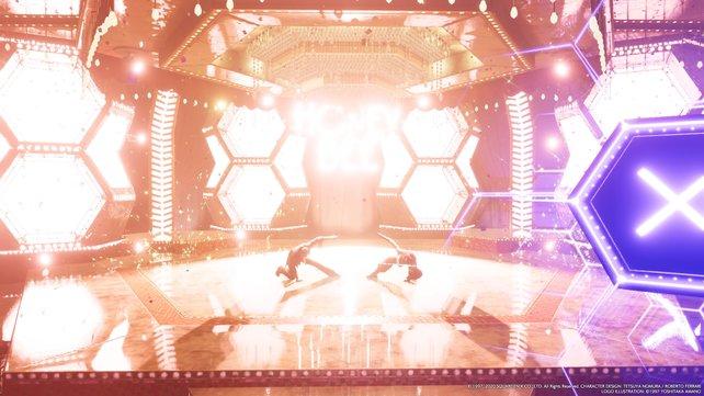 Was für ein Auftritt. Cloud hätte als Show-Tänzer eine glänzende Karriere vor sich.