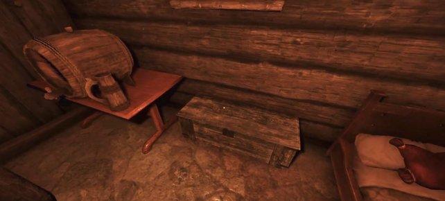 Wenn ihr diese Kiste plündert, solltet ihr keine Schwierigkeiten damit haben, die Quest abzuschließen.