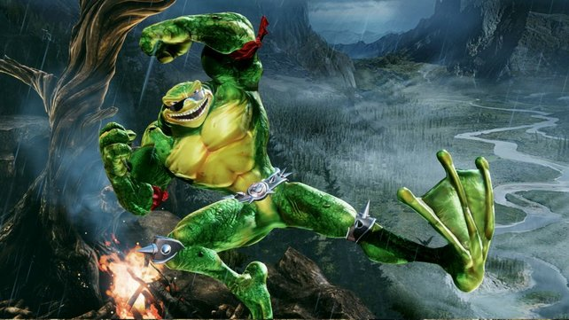 Das sind nicht die Ninja Turtles: Die Battletoads dürfen auch schon als Gäste in Killer Instinct zuschlagen.