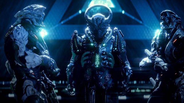 Die Kett sind die geheimnisvollen Widersacher in Mass Effect - Andromeda.