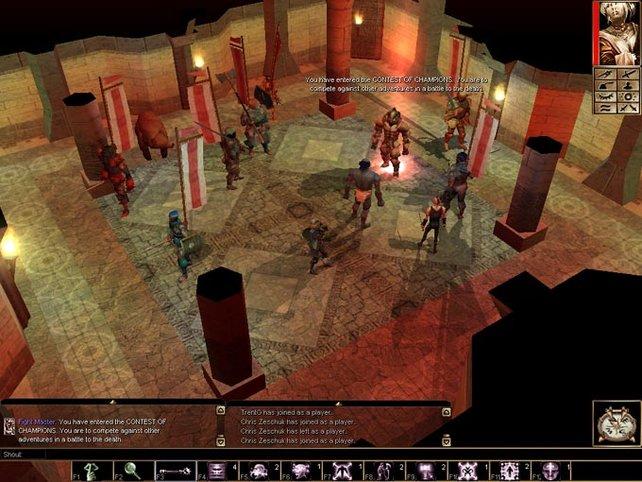 In Neverwinter Nights konnte ich per Editor sogar eigene Missionen erstellen.