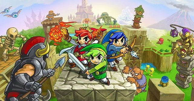 The Legend of Zelda - Triforce Heroes.