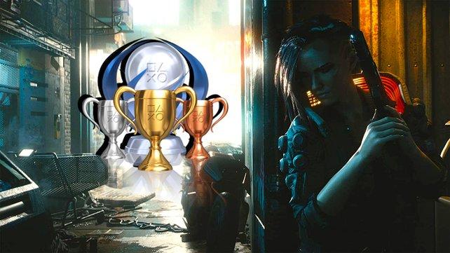 Aus den Schatten: Für alle Trophäen und Erfolge in Cyberpunk 2077 müsst ihr mächtig arbeiten.