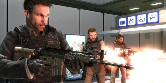 """Während der Abschuss von Zivilisten in der deutschen Version zum """"Game Over"""" führte, erschien die internationale Version ungeschnitten"""
