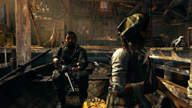 Das Ende einer Bootsfahrt mit zwei Widerstandskämpfern.