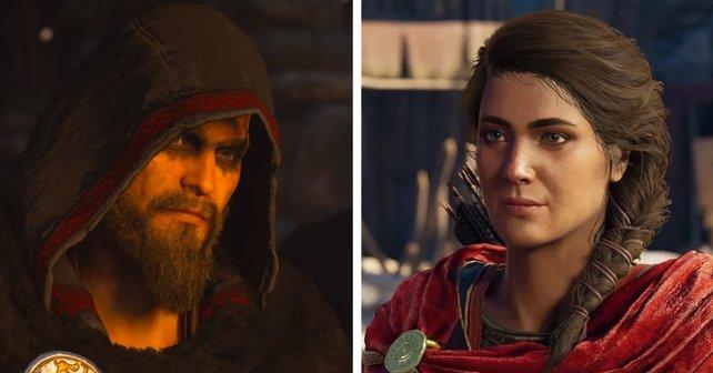 In puncto Story ist Odyssey schlicht besser als Valhalla. Kassandra ist dazu noch interessanter als Eivor.