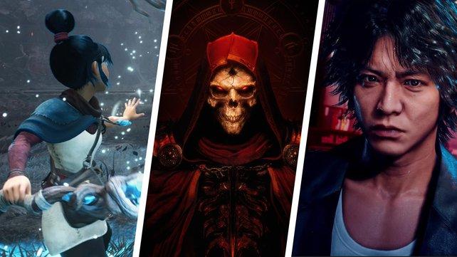 So langsam setzt die Spiele-Industrie zum Endspurt an! Auf diese Releases könnt ihr euch kommende Woche freuen. (Bild: Ember Lab / Blizzard / SEGA)