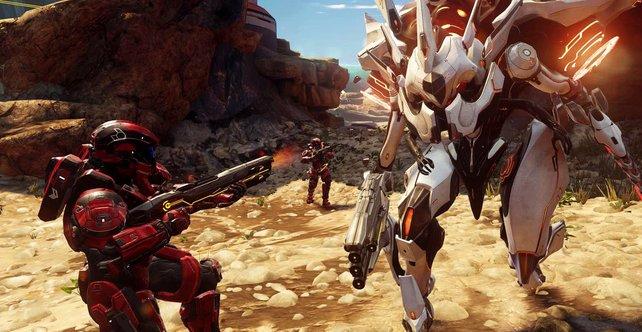 Im Kriegsgebiet-Modus bekämpft ihr nicht nur andere Online-Spieler.