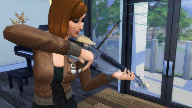 Mit der Geige könnt ihr nicht nur als Straßenmusiker, sondern auch als Komponist Geld verdienen.