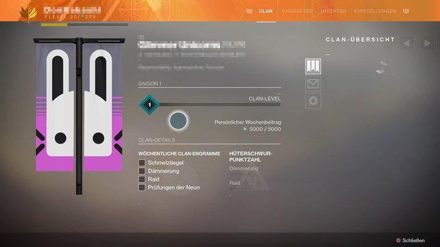 Destiny 2 Clan Erstellen Belohnungen Und Mehr Spieletipps
