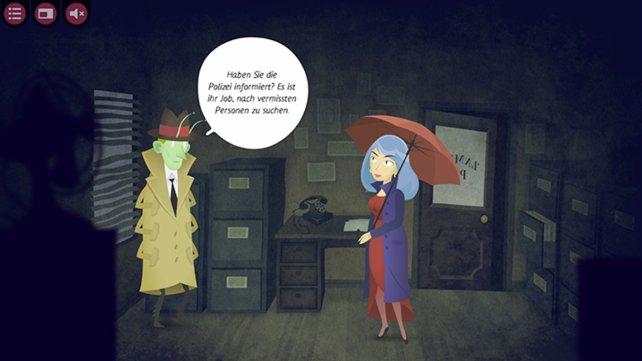 Szenenwechsel: Schabe im Mantel
