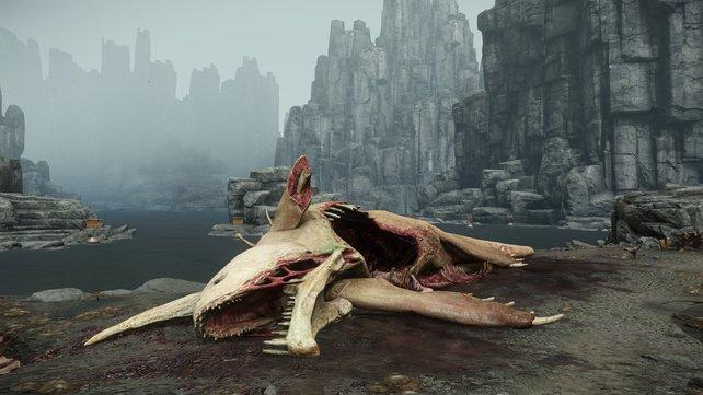 Nicht nur diese Kreatur aus Evolve ist dahingeschieden. Auch ein großer Teil des Spiels.
