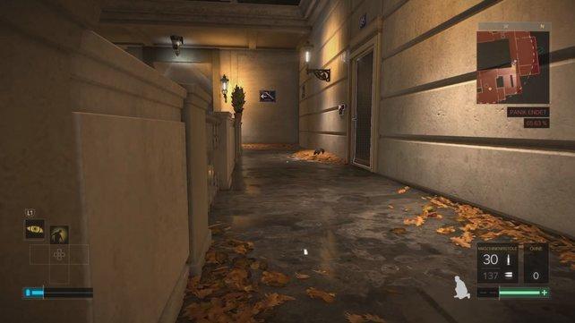 Diese Tür führt euch zum Kontrollraum in Nebenmission 9.