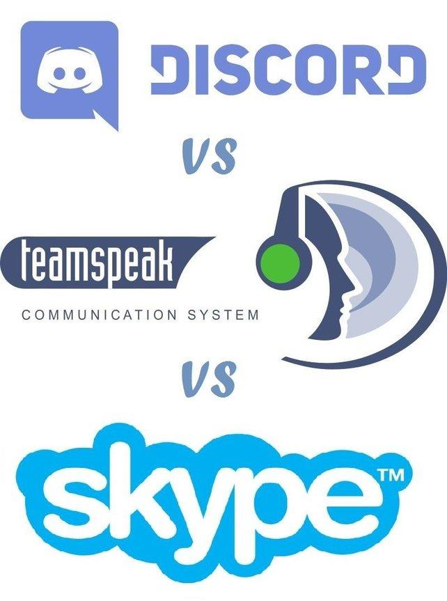 Discord vs. Teamspeak vs. Skype? Wer ist der bessere Voice-Chat-Anbieter im Netz?