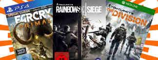 Deals: Schnäppchen des Tages: Ubisoft-Spiele im Angebot