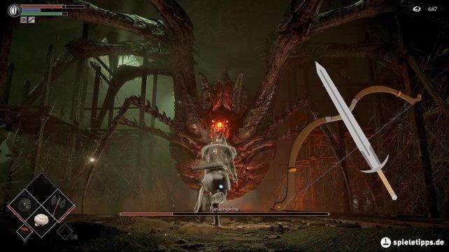 Mit der richtigen Taktik ist die Panzerspinne bei Demon's Souls einer der leichtesten Gegner.