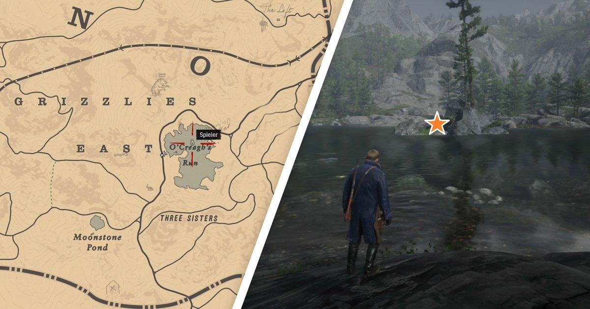 Red Dead Redemption 2: Schatz der Jack Hall Bande finden