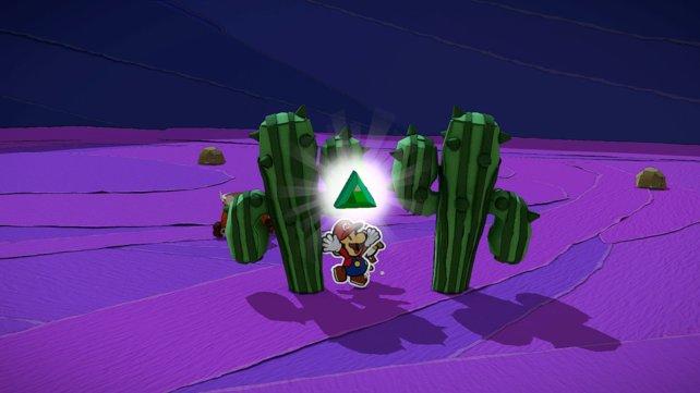 Das Bild zeigt euch den Fundort des Dreiecksklunkers.