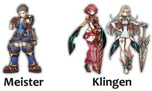 Alle Meister und ihre Start-Klingen