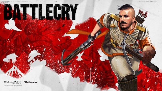 Nein, das ist nicht David Beckham, sondern ein Tech-Bogenschütze aus Battlecry.