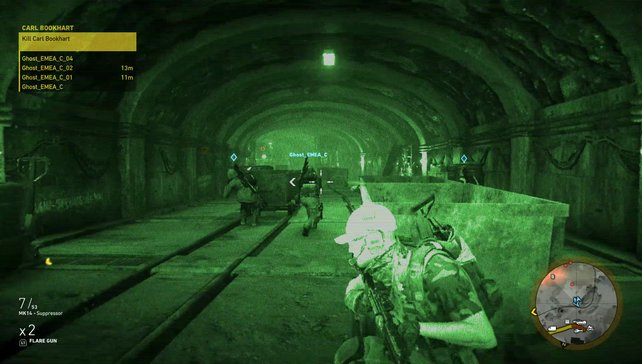 Jederzeit können Online-Spieler in den Einsätzen mitmischen.
