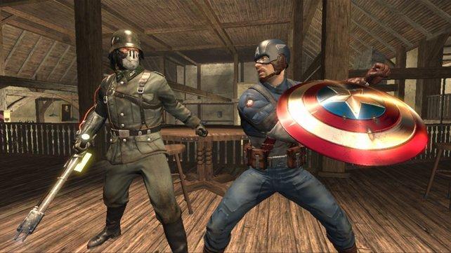 Da hilft auch kein Vibranium-Schild: Captain America - Super Soldier ist ein spielerischer Griff ins Klo.