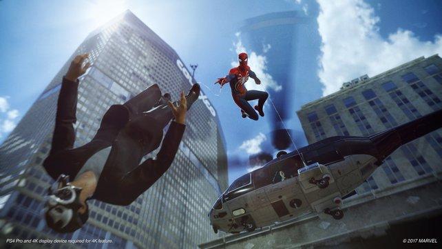 Spider-Man wäre ohne freies Schwingen einfach nicht das Selbe.