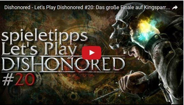 """Auch spieletipps hat schon """"Let's Play""""-Videos veröffentlicht. Die Videos zu Dishonored findet ihr zum Beispiel hier: /n_28206/."""