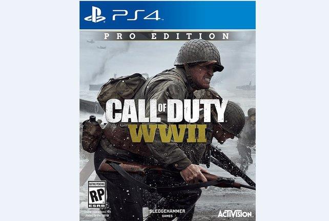 Das Cover der Pro Edition von Call of Duty - WW2 - ist das was für euch?