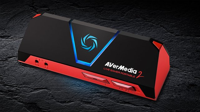 Die AVermedia Live Gamer Portable 2 nimmt Spielvideos auch ohne PC auf.