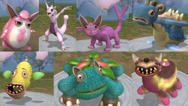 Und, erkennt ihr welche Pokémon diese Abscheulichkeiten darstellen sollen? Bildquelle: Facebook / Joesef Fucchands McMike.