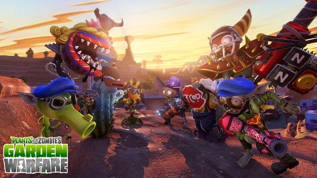 Auch auf PlayStation-Systemen geht nun der Krieg zwischen Pflanzen und Zombies los.