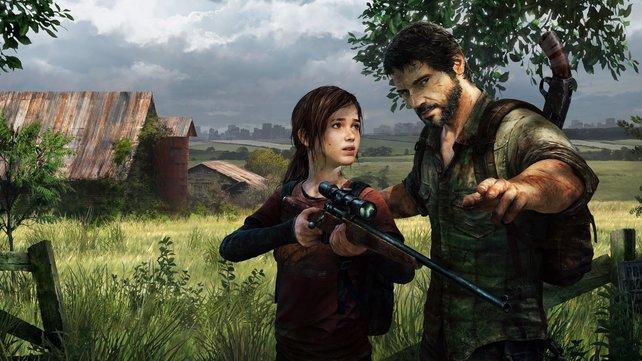 """Wie gut kann HBO die Lieblinge Joel und Ellie in der Serie umsetzen? Erste Bilder zur """"The Last of Us""""-Adaption geben eine Antwort. Bild: Sony."""