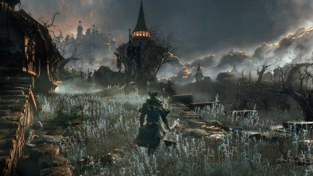 """Langer Mantel, große Sense: Wappnet euch für ein knackiges Action-Rollenspiel der """"Dark Souls""""-Macher."""