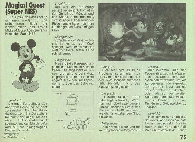 Hier bekam Markus seine Lösungen her: Die PowerPlay, im Bild Jahrgang 1993.