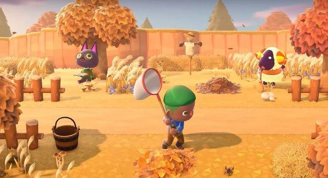 In Animal Crossing: New Horizons leisten euch wieder viele knuddelige Tierchen Gesellschaft.